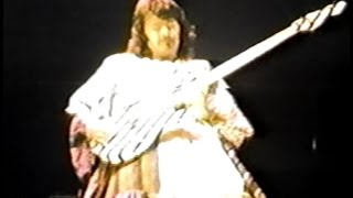 Jethro Tull 8mm film sync - 1975 01 17 Asheville NC First USA Warchild show
