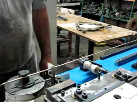 מאוד מכונת כיפוף צינורות ופרופילים CNC KOL KIFUF - YouTube ZV-57