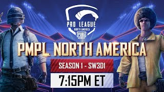 [EN] PMPL North America SW3D1 | Season 1 | PUBG MOBILE Pro League 2021