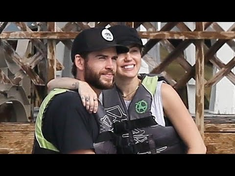 Miley Cyrus and Liam Hemsworth Are All Smiles as They Return to the Island Where They First Met