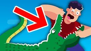 How To ACTUALLY Survive a Crocodile Attack