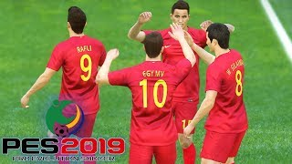 Download Video AYO GARUDA MUDA!!!... INDONESIA U-19 VS CHINA TAIPEI U-19 - AFC U-19 #1 (PES 2019 INDONESIA) MP3 3GP MP4
