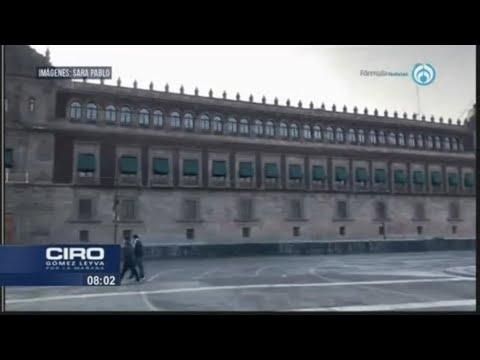 """Tras las protestas del 8M, Palacio Nacional amanece sin el """"muro de la paz"""""""