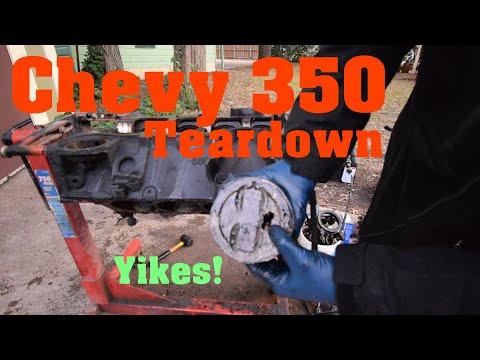 Chevy 350 5.7L Teardown - 383 Stroker Build