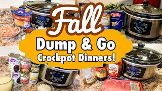*FIVE* DUMP AND GO CROCKPOT RECIPES | HOMELY SLOW COOKER MEALS FOR THE WEEK - PART 2 | JULIA PACHECO
