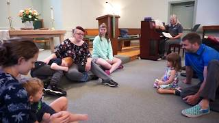 2017-07-22 Christina Wilson leads UCCA's Service of the Word