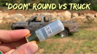 """""""DOOM"""" Round Vs Truck #shorts"""