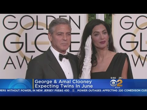 George & Amal Clooney Expecting Twins