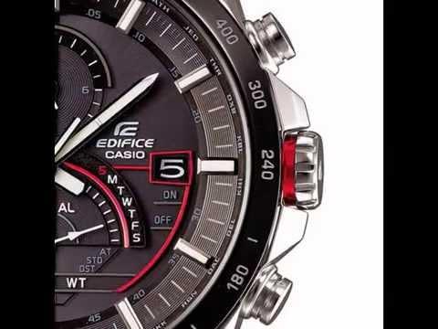 Мужские японские наручные часы Casio Edifice EQS-A500RBP-1A - YouTube