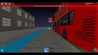 Roblox London Hackney & Limehouse bus Simulator E400 MMC Hybrid Stagecoch London on Route N205