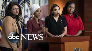 2020 hopefuls united in their criticism of Trump's attacks on 4 congresswomen