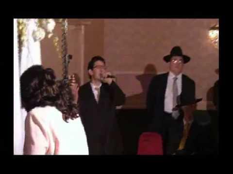 Chuppah By Benny Amar in a Sephardic Wedding - Yaakov Shwekey