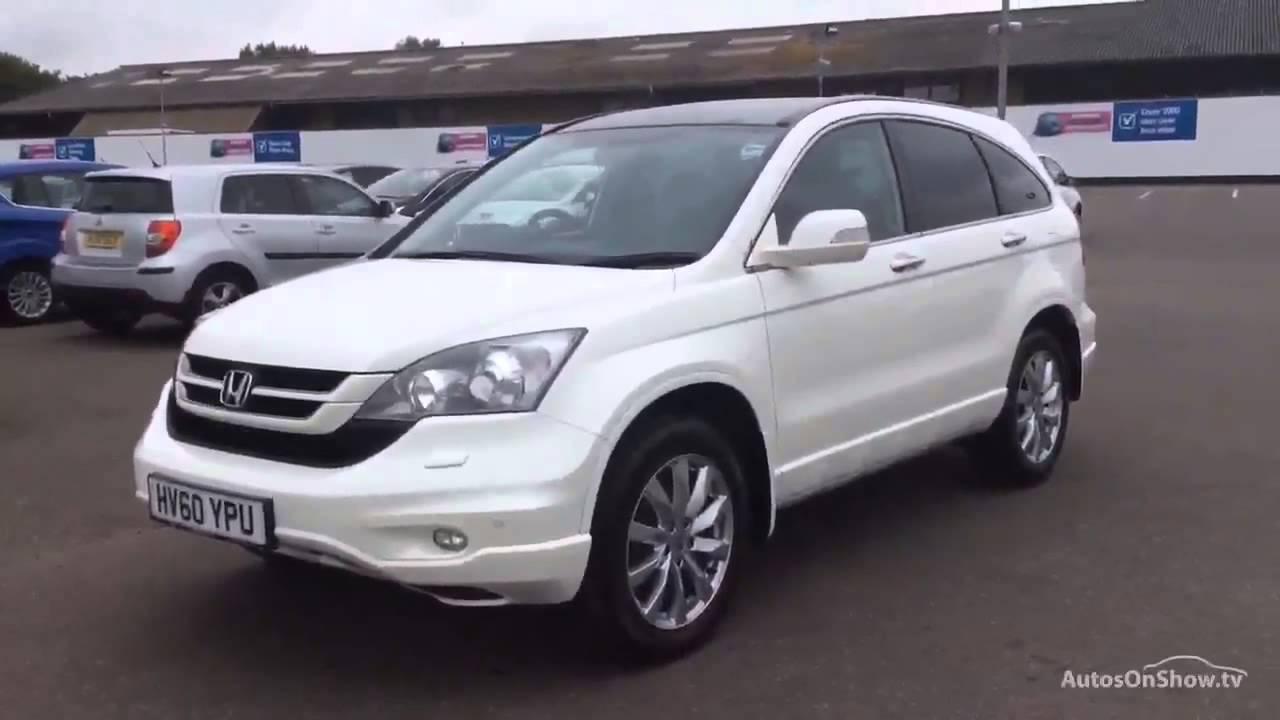 HONDA CRV IDTEC EX WHITE 2010  YouTube