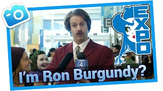 Ron Burgundy reports on the Edmonton Expo!