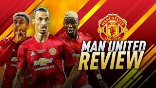 FIFA 17 HOW TO PLAY WITH MANCHESTER UNITED TUTORIAL - Best Formation - Lineup -Tactics