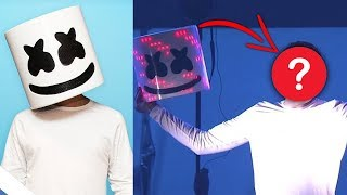 The Truth Of Marshmello's Real Identity...