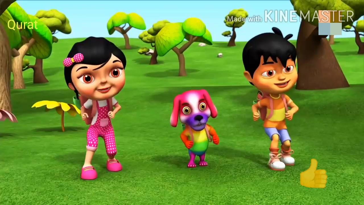 Maun totta hare Rang ka urdu Rhymes / Nursery Rhyme - YouTube