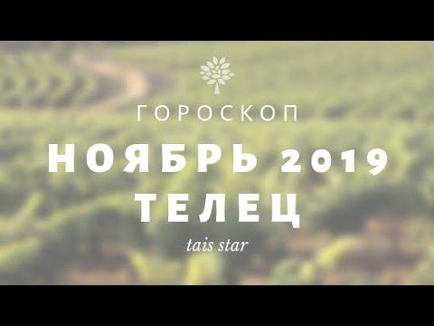 Гороскоп на Ноябрь 2019 ТЕЛЕЦ ♉/ ВНИМАНИЕ! Ретро Меркурий!