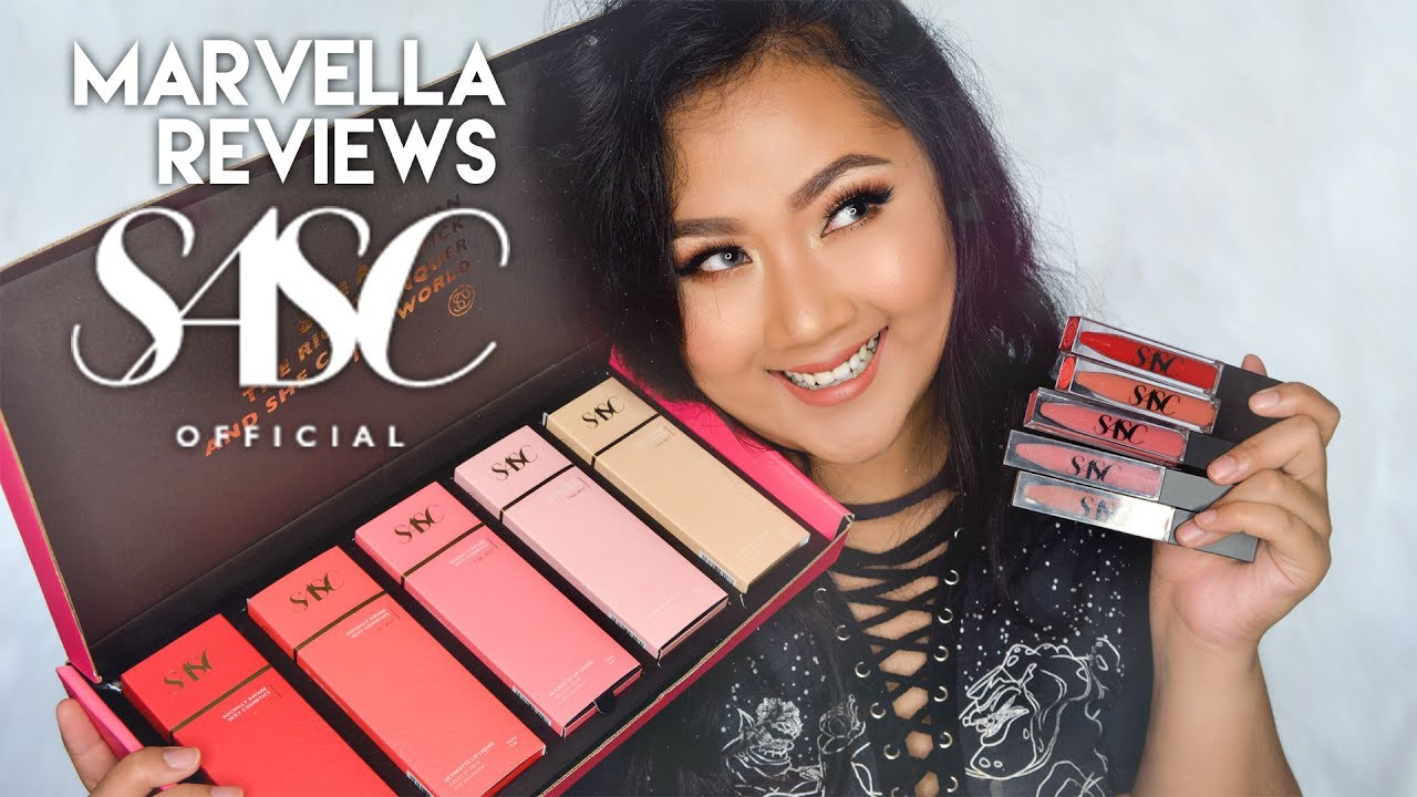 Sasc Official Swatches Review First Impressions Bahasa Indonesia Luxcrime X Rachel Goddard The Ash Delaniamarvella
