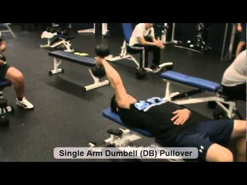 Single Arm Dumbell DB Pullover - YouTube