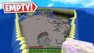 How to Craft the SUPER SPONGE in Minecraft....!