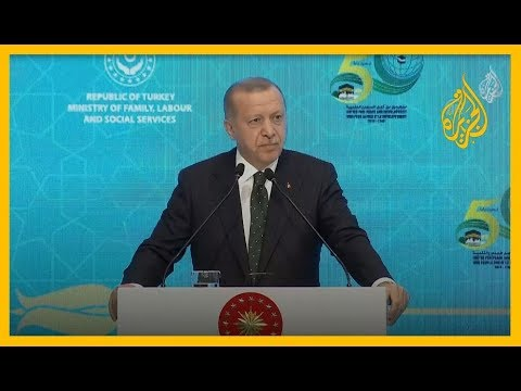 ???? #أردوغان: من المحزن أن هناك دول عربية تشجع العنف الإسرائيلي  - نشر قبل 2 ساعة