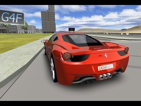 Ferrari 3D, гонки для детей, детские игры