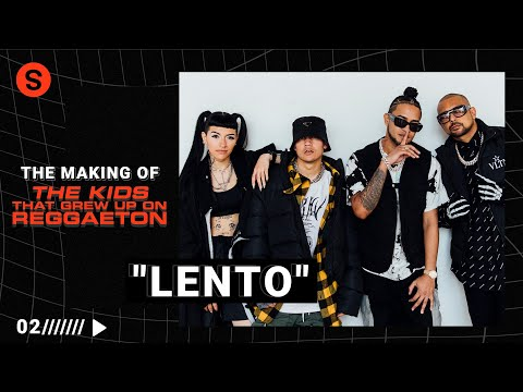 "The making of ""LENTO"" con Tainy: un track de su EP 'The Kids that Grew Up on Reggaeton'"