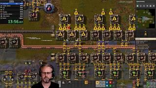 Factorio 0.18 Any% Multiplayer Speedrun WR 1:05:19