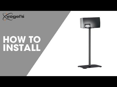 How to install SOUND 3305 | Speaker floor stand | Vogel's