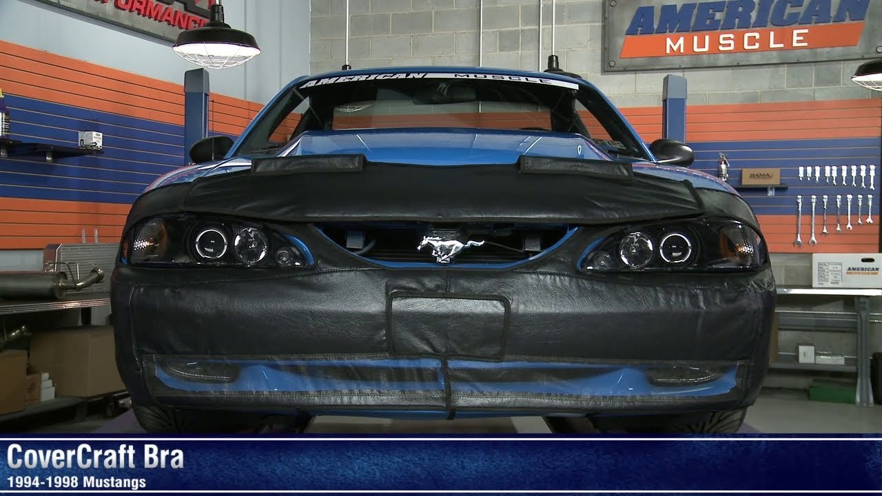 Mustang Covercraft Bra 94 98 Gt V6 Review Youtube