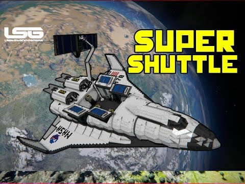 space engineers a 78 voyager super shuttle youtube. Black Bedroom Furniture Sets. Home Design Ideas