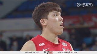 【HIGHLIGHTS】 Choi Junyong H/L | Knights vs Sakers | 20180120 | 2017-18 KBL