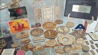 Значки, медали, сувениры на заказ в Москве - видео из офиса