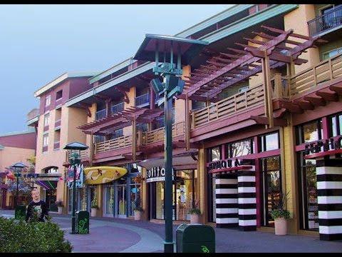 Downtown Disney Walkthrough Tour California