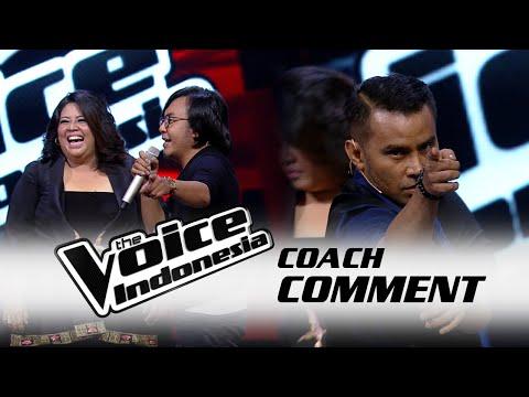 Coach Ari Lasso Ajari Koreografi Ke Nancy | Live Show 2 | The Voice Indonesia 2016
