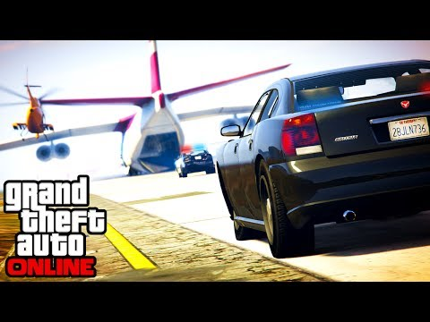 GTA 5: Online - Epic Police Chase & Cargo...