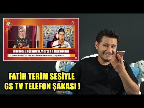 FATİH TERİM SESİYLE GS TV TELEFON ŞAKASI !