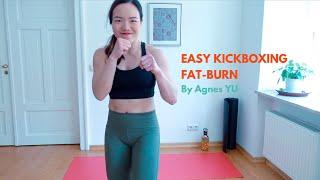 Easy Kickboxing Fat-Burn (Beginners level)