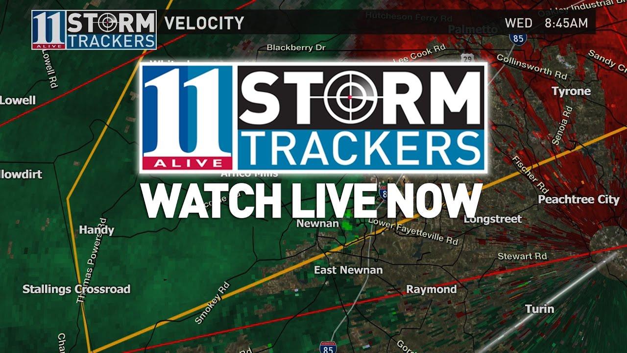 LIVE: Severe storms moving through Georgia   Atlanta weather live coverage