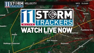 LIVE: Severe storms moving through Georgia | Atlanta weather live coverage
