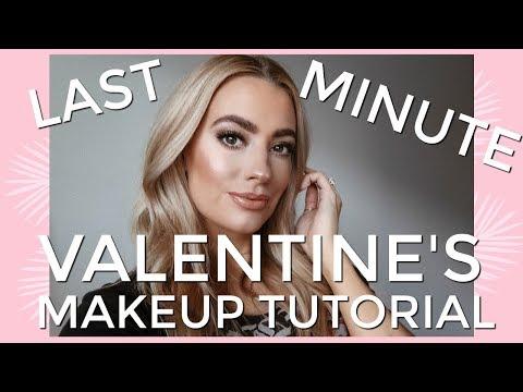 Last Minute Valentine's Makeup Tutorial | Lacey Caroline