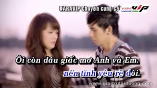 [Karaoke] Cuộc Tình Không Trọn Vẹn - Châu Gia Kiệt Beat Gốc