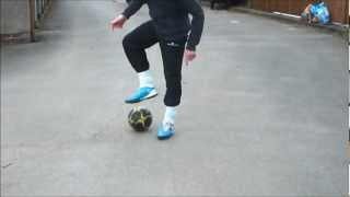 Football Dribble tricks control tutorial 1(Dribble tricks tutorial teaching you how to control the ball soccer skills and moves. if you want any extra info on the tricks such as elastico and stepover or if you ..., 2012-04-26T19:44:39.000Z)