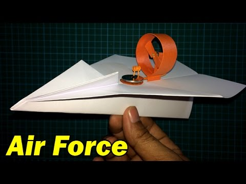 How to make a very Cool Electric Paper Airplane in the World that can fly | Creative Channel
