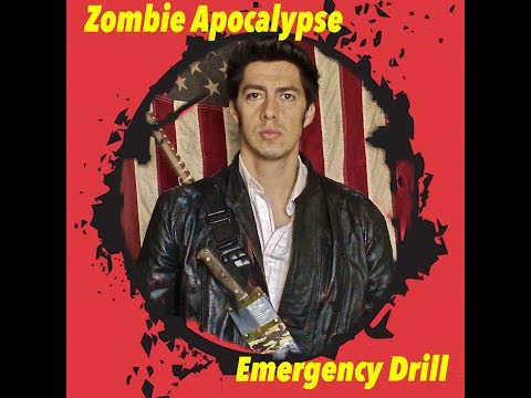 Zombie Apocalypse Emergency Drill: In Hollywood at Gruaman's Chinese Theater: