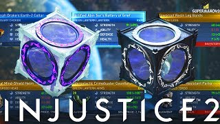 Injustice 2: NEW EPIC GEAR! 100+ Mother Box Opening! Diamond, Platinum Mother Boxes
