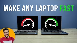 "How to MAKE Your ""Old"" Laptop 14 TIMES Faster"