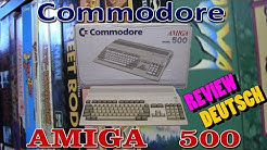 Commodore Amiga 500 (Deutsch) - eine Review vom Retro Gambler
