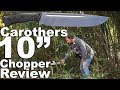 """Download A $500 Knife Made for Chopping- The 10"""" Carothers Medium Chopper Review in 3V steel with actual use."""